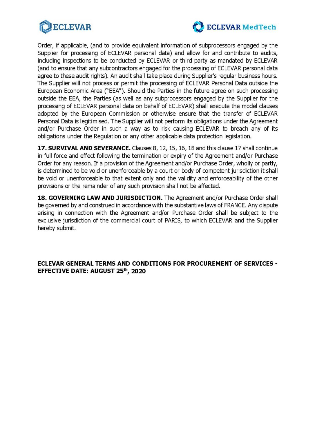 ECLEVAR PROCUREMENT OF SERVICES VAUG 2020_MedTech-page-008